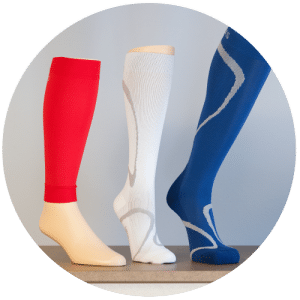 3 different types of compression stockings for varicose veins