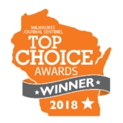 Winner Milwaukee top choice award